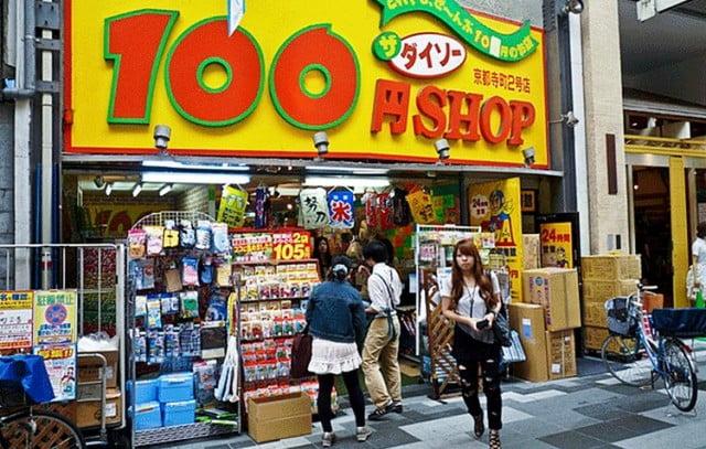 100 yen shop Japan