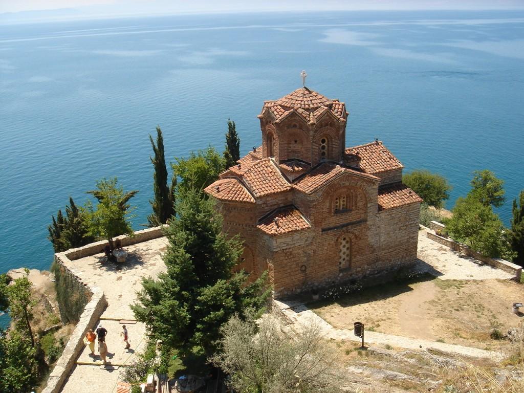Sveti Jovan Kilisesi Ohri makedonya resimleri