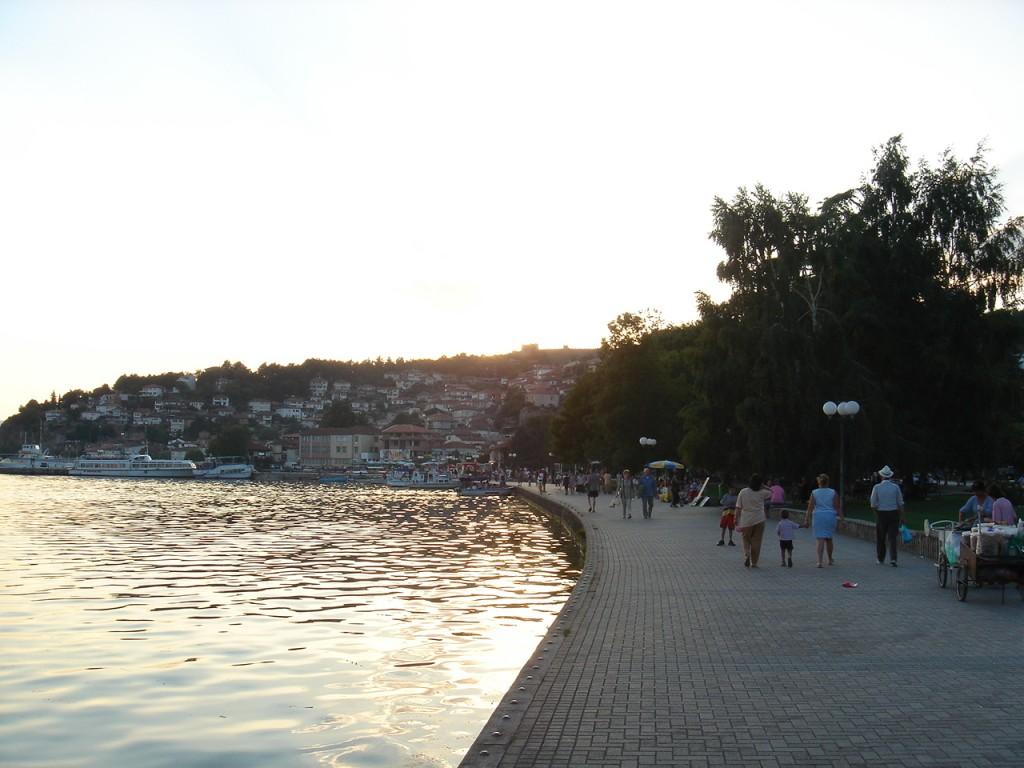 Ohrid Sahili makedonya turu gezilecek yerler