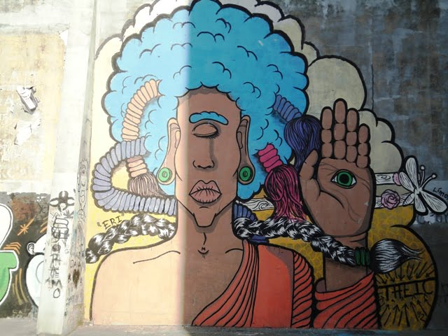 Ciudad Vieja Montevideo Uruguay graffiti