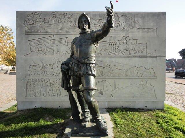Montevideo Uruguay statue