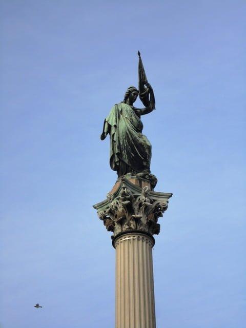 Plaza Cagancha Montevideo Uruguay