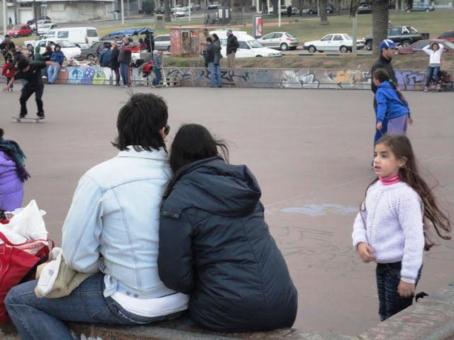 Montevideo Uruguay insanlar