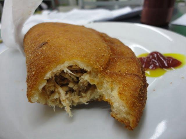 brazil food pastel de frango