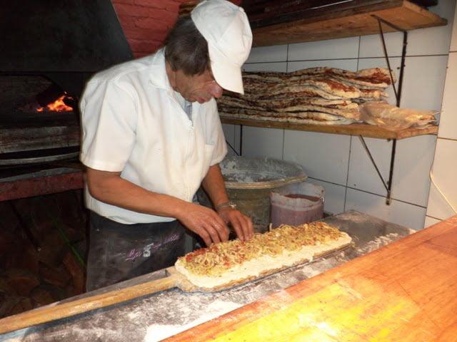 Uruguay pizza