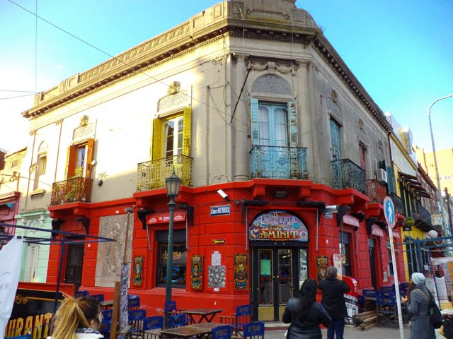 Buenos Aires La Boca La Perla Cafe Arjantin
