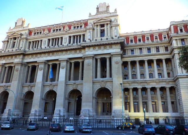 Buenos Aires turu Palacio de Tribunales