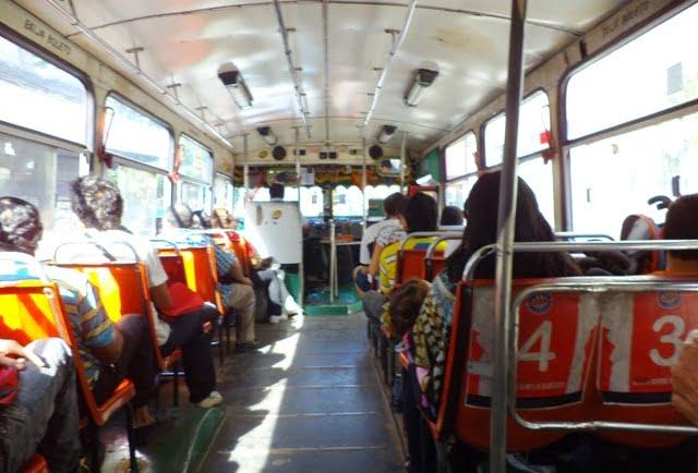 autobús público asuncion colectivo
