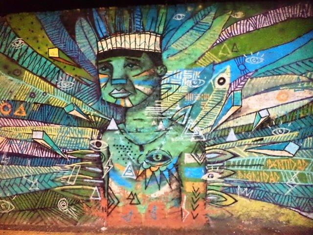 Asuncion graffiti Paraguay