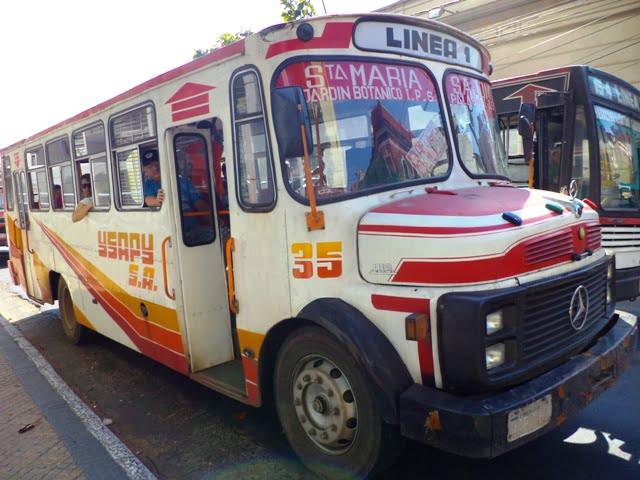 transportación urbana asuncion