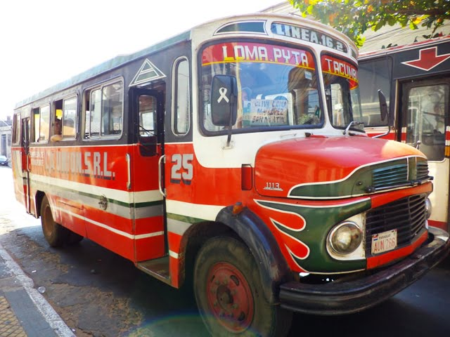 autobús público asuncion