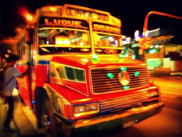 Asuncion Paraguay colectivo Linea 28 transportación urbana