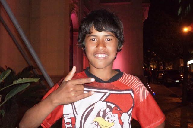 Paraguay boy