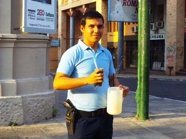 Paraguay terere