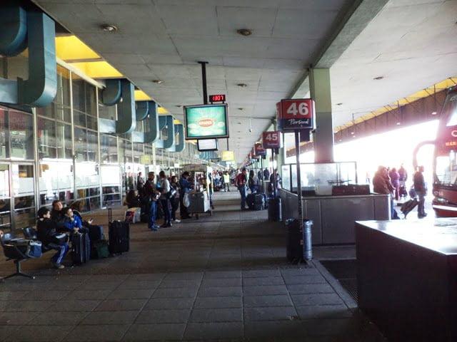 Buenos Aires otobus terminali