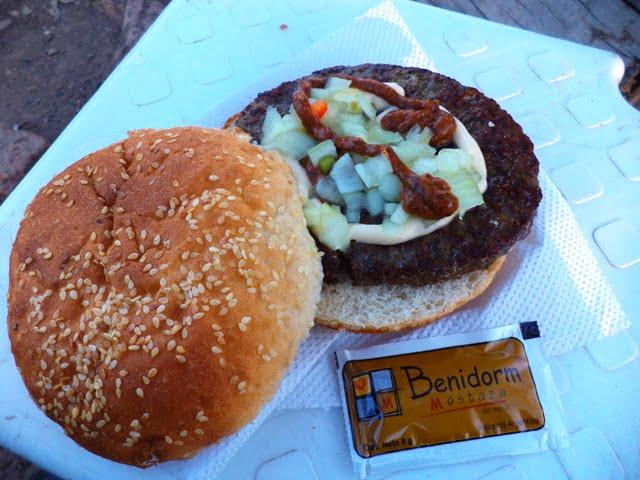 Buenos Aires arjantin yemek argentinian hamburger food