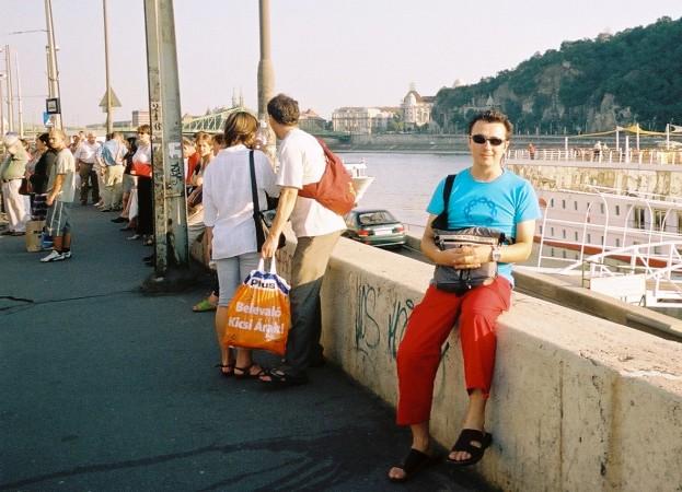 Tuna Nehri Budapeste seyahat