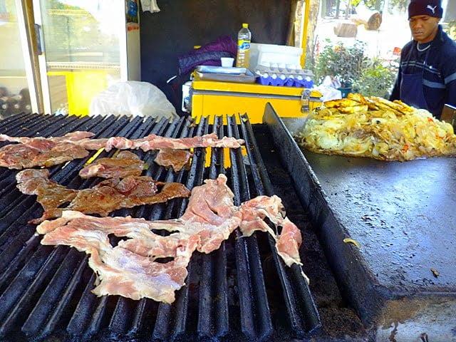 Arjantin yemek parrilla