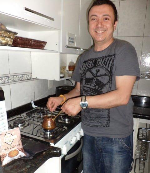 Turkish coffee Türk kahvesi brezilya