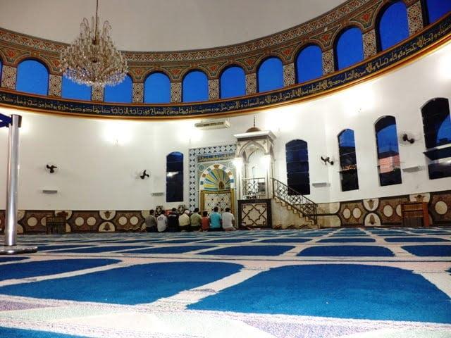Omar Ibn Al-Khattab mosque foz do iguacu hz.Ömer camii brezilya