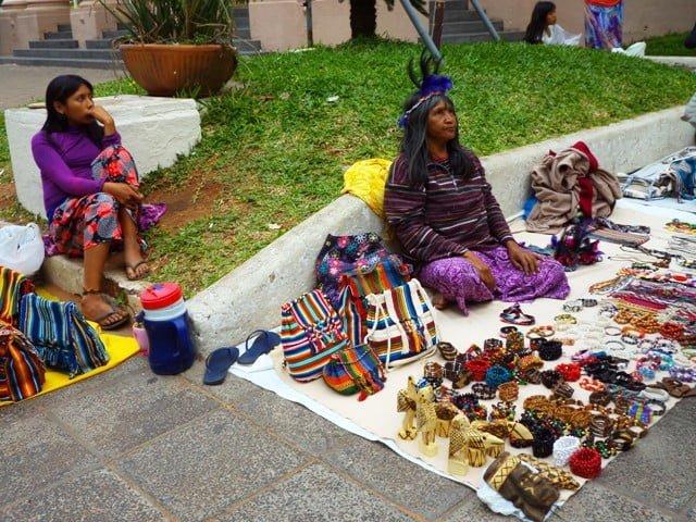 Palma street seller Asuncion