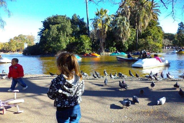 Parque independencia Rosario Argentina