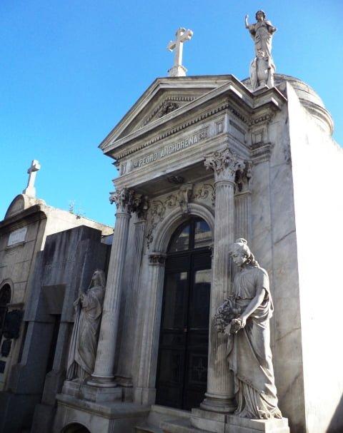 Pedro Anchoreno Recoleta Cemetery Buenos Aires Argentina