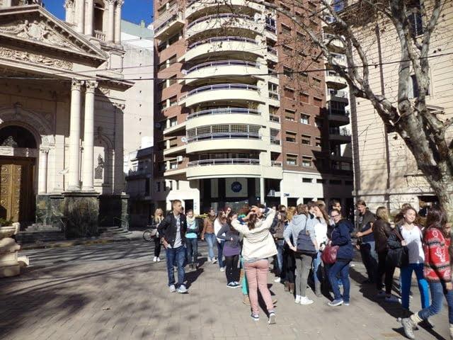 Plaza 25 de Mayo Rosario Argentina