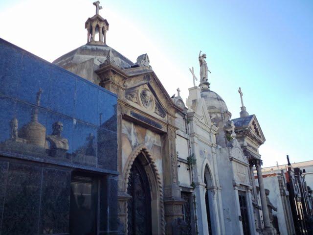 Buenos Aires'teki Recoleta Mezarlığı