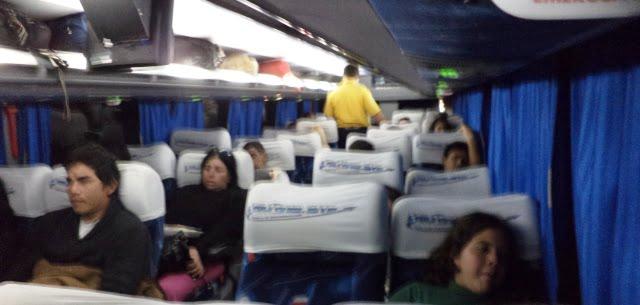 arjantin paraguay otobüs