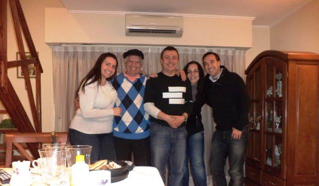 Rosario Arjantin insanlar