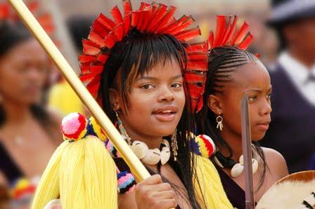 afrika kadınları