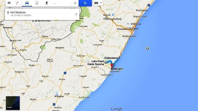 afrika tatil haritası