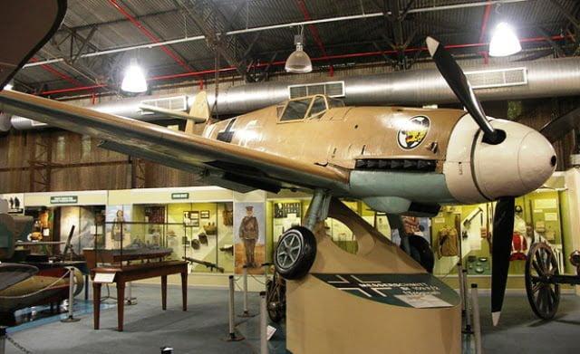 afrika savaş uçağı