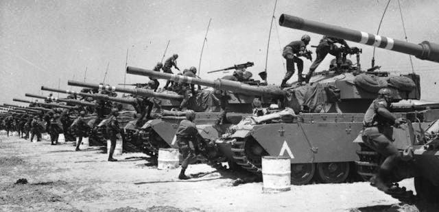 Altı Gün Savaşı İsrail Filistin