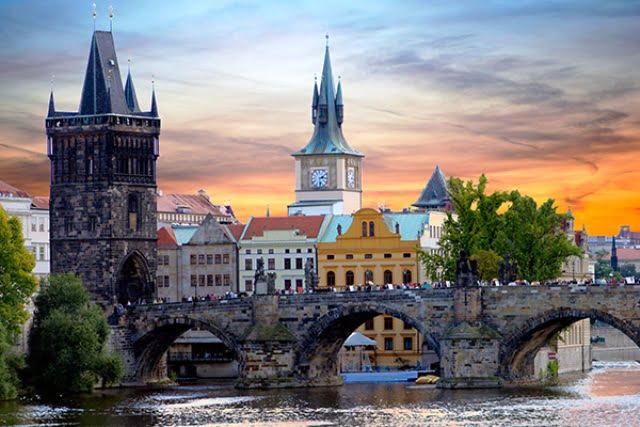 Aşk kenti Prag