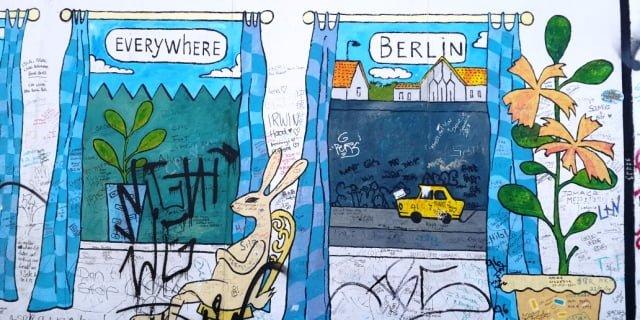 Almanya Berlin Duvarı