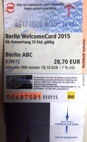 Berlin indirim kartı