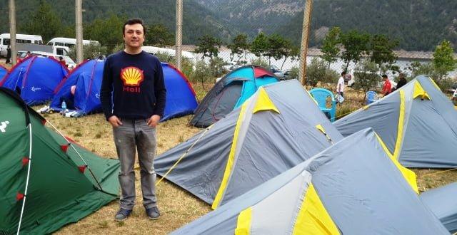 çadır kampı
