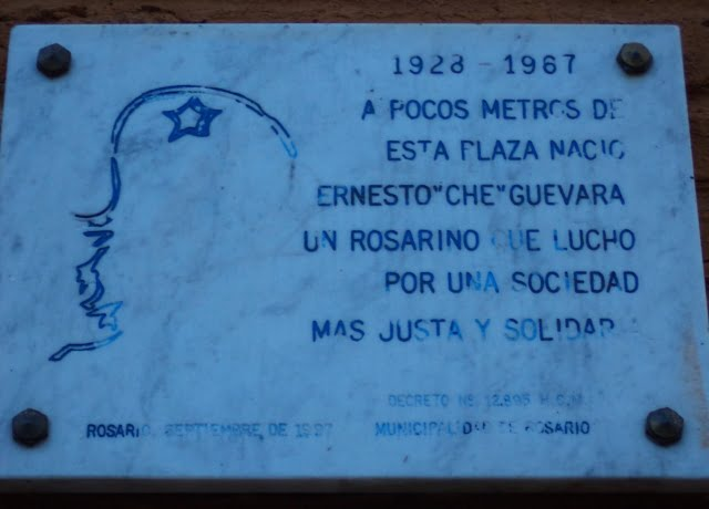 ernesto guevara dogum yeri Rosario Arjantin