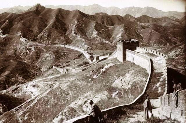 Çin Seddi tarihi