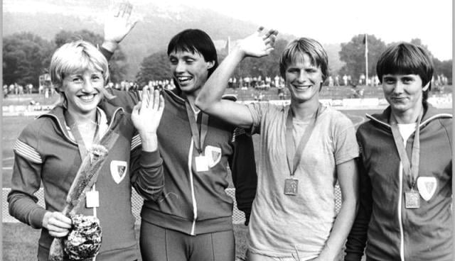 Doğu Alman sporcular