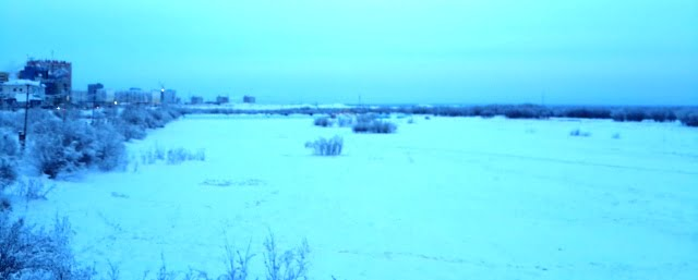sibirya donmuş nehir