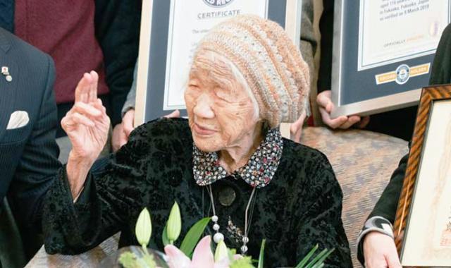 Dünyanın en yaşlı kişisi