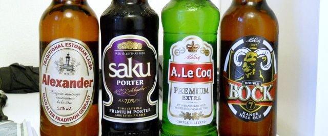 Estonya birası
