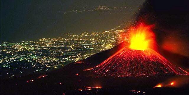 Etna Volkanı