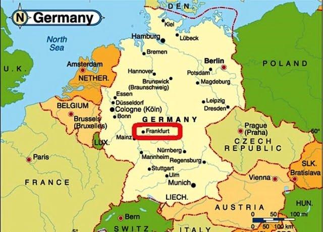 Frankfurt nerede