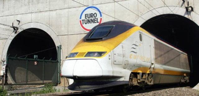 Fransa İngiltere tren