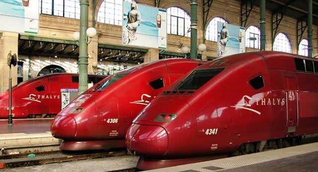 Fransa'dan trenle nereye gidilir