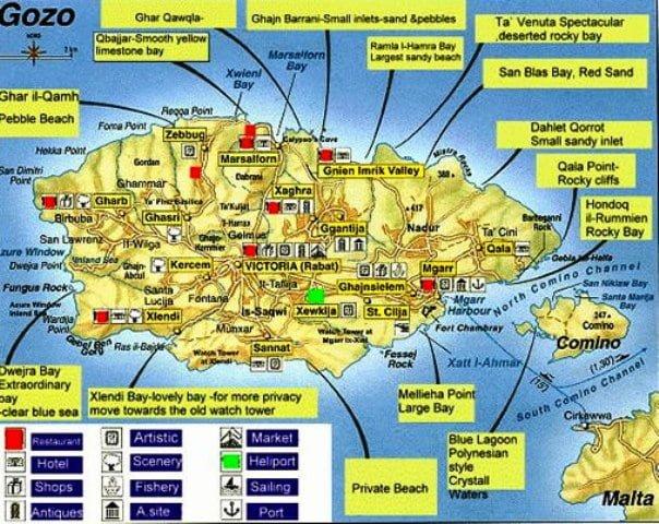 Gozo harita